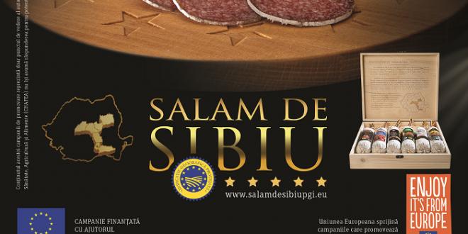 Salamul de Sibiu – Indicaţie Geografică Protejată – Gust European desăvârşit!